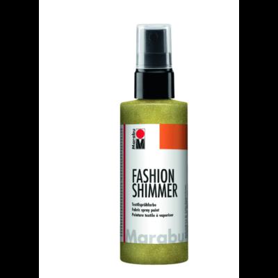 Fashion - Csillámos Textilfesték Spray - Shimmer-Lemon - 520