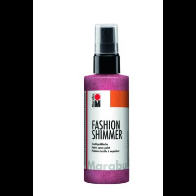 Fashion - Csillámos Textilfesték Spray - Shimmer-Red - 531