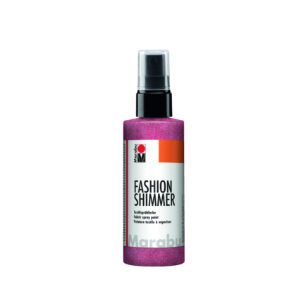 Fashion - Csillámos Textilfesték Spray - Shimmer-Rose Pink - 534