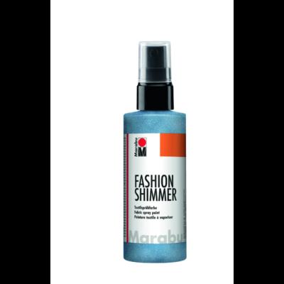 Fashion - Csillámos Textilfesték Spray - Shimmer-Sky Blue - 595