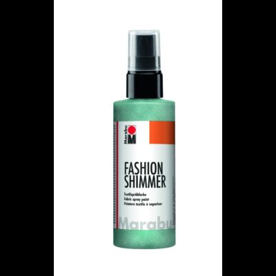 Fashion - Csillámos Textilfesték Spray - Shimmer-Aquamarine - 599
