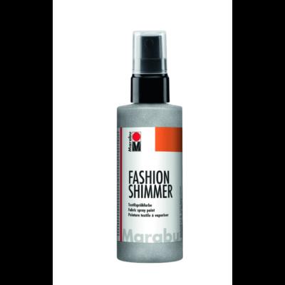 Fashion - Csillámos Textilfesték Spray - Shimmer-Silver - 581