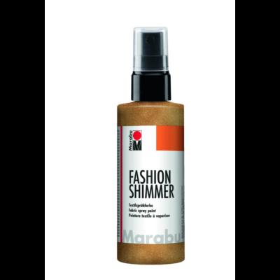 Fashion - Csillámos Textilfesték Spray - Shimmer-Gold - 583
