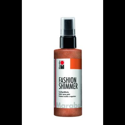 Fashion - Csillámos Textilfesték Spray - Shimmer-Copper - 585