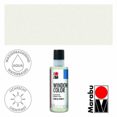 Marabu Window Color Fun & Fancy – Üvegmatrica festék - Mother-of-pearl - 270
