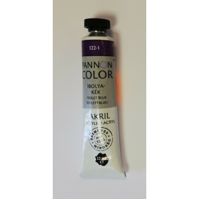 Pannoncolor Akril festék 22ml - Ibolyakék