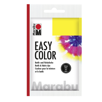 Marabu Easy Color – Batikfesték - Black - 25g