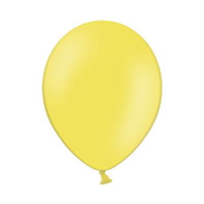 11 inch-es Pastel Bright Yellow - Világossárga Kerek Lufi (10 db/csomag)