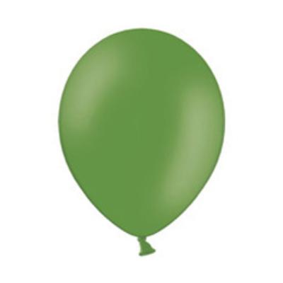 11 inch-es Pastel Leaf Green - Zöld Kerek Lufi (10 db/csomag)