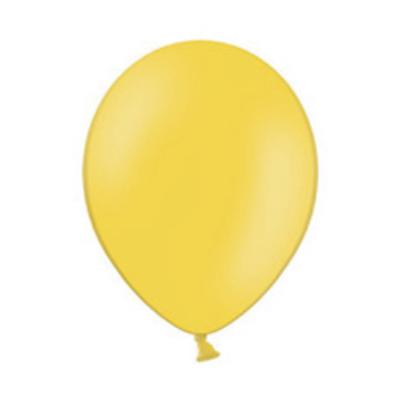 11 inch-es Pastel Yellow - Sárga Kerek Lufi (10 db/csomag)