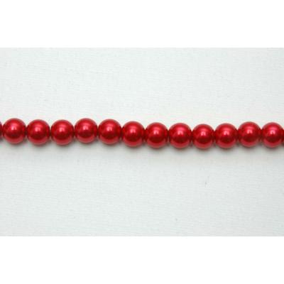 Viaszgyöngy, piros 4mm