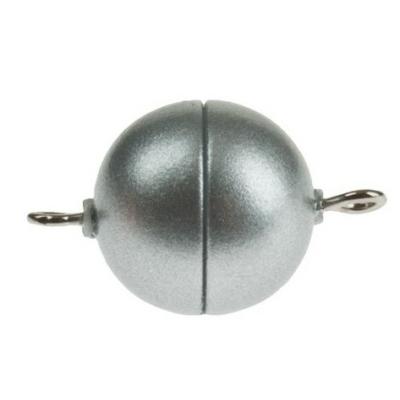 Mágneskapocs ø 8 mm, műanyag