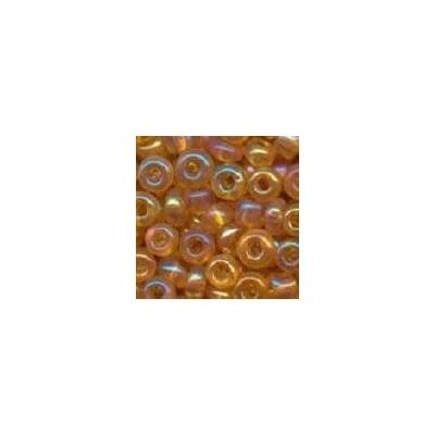 Sivárványos méz kásagyöngy, 2mm