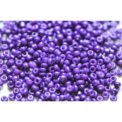 Opak lila kásagyöngy, 2mm