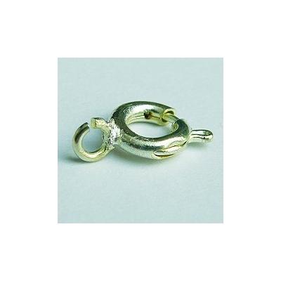 Springer gyűrű karikával, 6mm