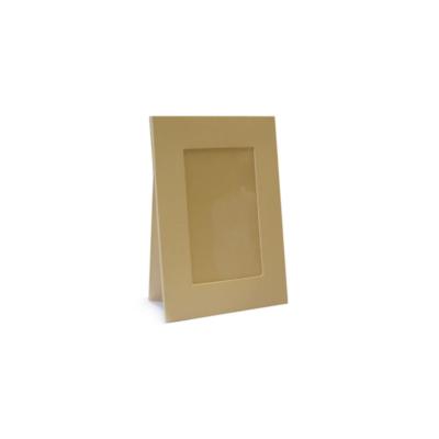 Natúr papír képkeret, 10x15cm-es képnek