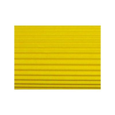 Hullámkarton, 50x70 cm, citromsárga