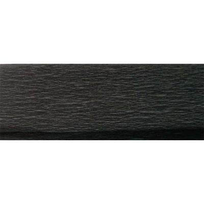 Krepp-papír, 50x200 cm, fekete