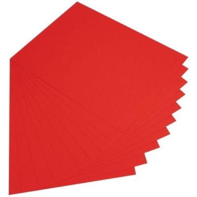 Fotókarton 50x70cm, piros