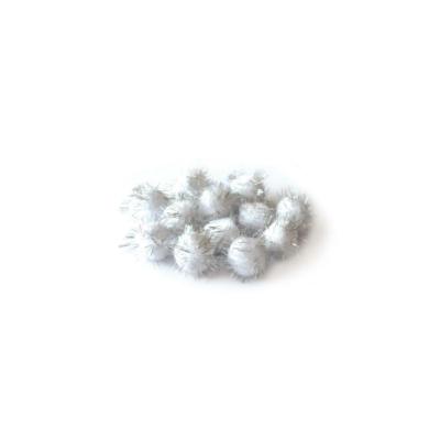 Pompom, 30mm-es ezüst