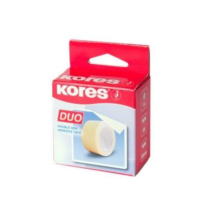 "Ragasztószalag, kétoldalas, 30 mm x 5 m, KORES ""Duo"""