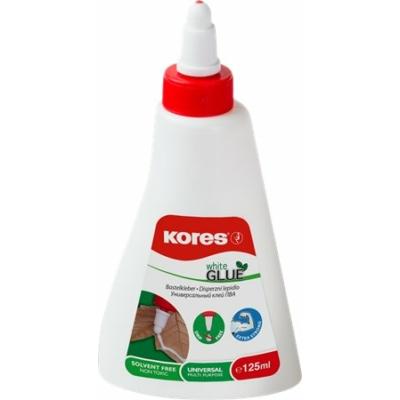 """Hobbyragasztó, 125 ml, KORES """"White Glue"""""""