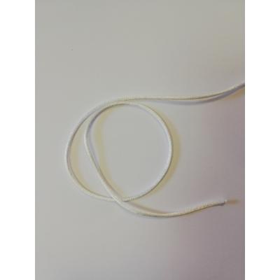Selyemzsinór 2mm, fehér